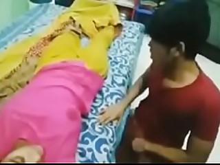 Desi bhabhi sleeping hot boobs