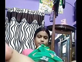 Indian housewife fingering