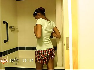 Succulent Divya In Shower Showing On the up Desi Gut - Indian Porn