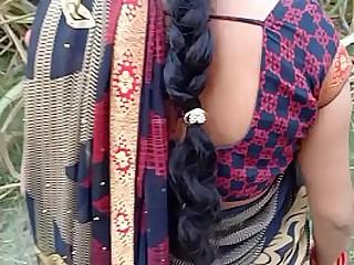 Best Desi village Bhabhi outdoor XXX Sex Helter-skelter Grid-work
